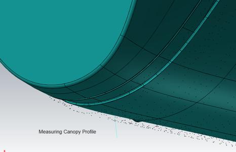 CAD Model Laser Tracker