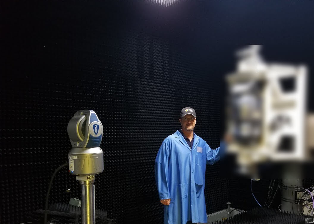 Laser Tracker Test Chamber